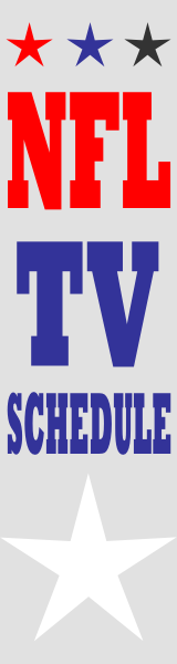 NFL TV Schedule